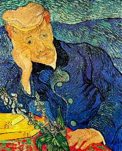 Vincent Van Gogh - Portrait of Dr. Gachet - (Buy fine Art Reproductions)