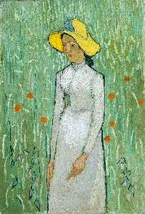 Vincent Van Gogh - Girl in White