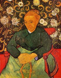 Vincent Van Gogh - Lullaby (Portrait of Madame Roulin)
