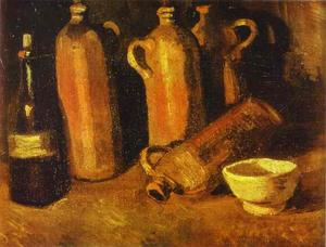 Vincent Van Gogh - Still Life with Four Jugs