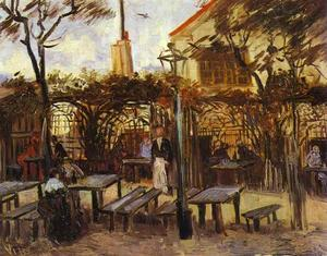 Vincent Van Gogh - Terrace of the Cafè La Guinguuette