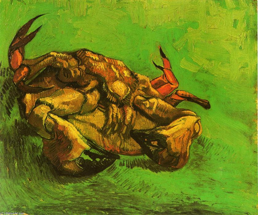 Crab on Its Back, 1889 by Vincent Van Gogh (1853-1890, Netherlands) | Museum Quality Copies Vincent Van Gogh | WahooArt.com
