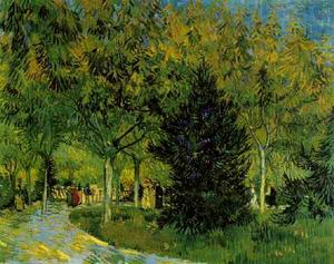 Vincent Van Gogh - Lane in the Public Garden at Arles, A