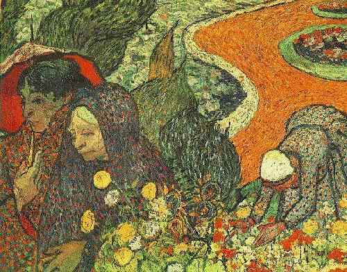 Memory of the Garden at Etten, 1888 by Vincent Van Gogh (1853-1890, Netherlands) | Reproductions Vincent Van Gogh | WahooArt.com
