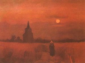 Vincent Van Gogh - Old Tower in the Fields, The