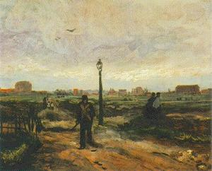 Vincent Van Gogh - Outskirts of Paris 2