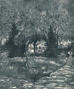 Vincent Van Gogh - Park at Arles with the Entrance Seen through the Trees, The