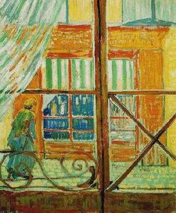 Vincent Van Gogh - Pork-Butcher-s Shop Seen from a Window, A