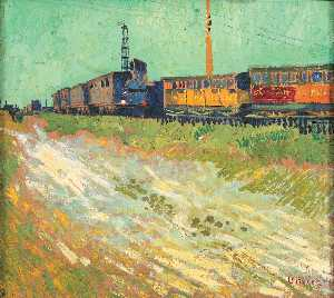 Vincent Van Gogh - Railway Carriages
