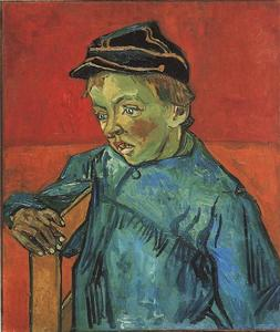Vincent Van Gogh - Schoolboy Camille Roulin, The