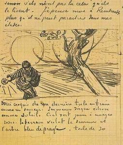Vincent Van Gogh - Sower, The 5 letters