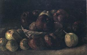 Vincent Van Gogh - Still life with a basket of apples