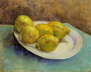 Vincent Van Gogh - Still Life with Lemons on a Plate