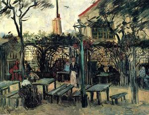 Vincent Van Gogh - Terrace of a Cafe on Montmartre --La Guinguette--