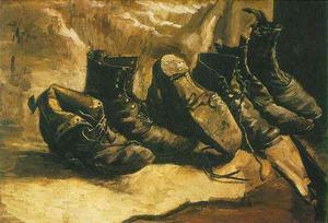 Vincent Van Gogh - Three Pairs of Shoes