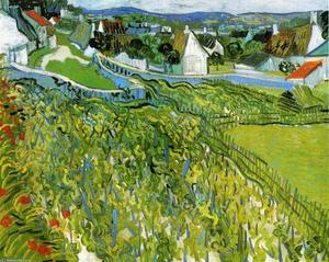 Vincent Van Gogh - Vineyards with a View of Auvers