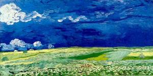 Vincent Van Gogh - Wheat Field Under Clouded Sky