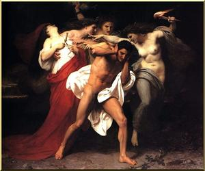 William Adolphe Bouguereau - Orestus Pursued by the Furies