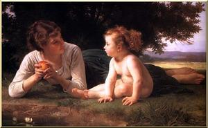 William Adolphe Bouguereau - Temptation