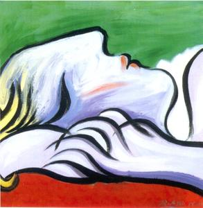 Pablo Picasso - Asleep