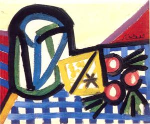 Pablo Picasso - Glass and Fruit
