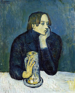 Pablo Picasso - Sabartes - (paintings reproductions)