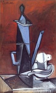 Pablo Picasso - The Blue Coffee Pot