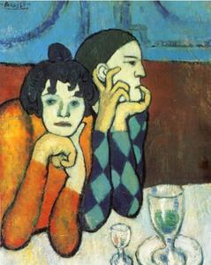 Pablo Picasso - The Two Saltimbanques