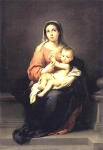 Bartolome Esteban Murillo - Madonna and Child
