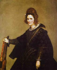 Diego Velazquez - Portrait of a Lady