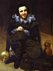 Diego Velazquez - The Buffoon Calabazaz (Calabacillas)