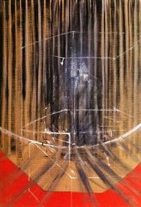 Francis Bacon - figure in frame, 1950 x