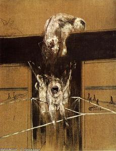 Francis Bacon - fragment of a crucifixion, 1950 x