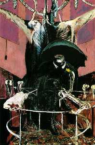 Francis Bacon - painting, 1946