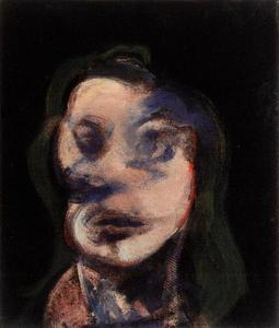 Francis Bacon - studies for portrait (looking right), 1964