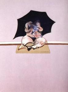 Francis Bacon - studies of the human body - triptych, 1970 centre