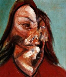 Francis Bacon - study for a portrait of isabel rawsthorne, 1966 a