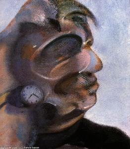 Francis Bacon - study for self-portrait, 1973 d