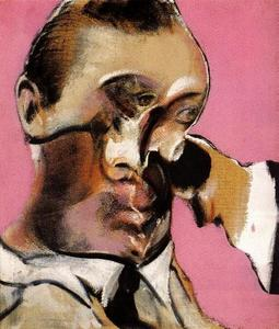 Francis Bacon - three studies for a portrait, 1968 b