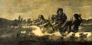Order Museum Quality Reproductions : Atropos (Atropos or Fate) by Francisco De Goya (1746-1828, Spain) | WahooArt.com