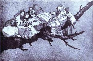 Francisco De Goya - Disparate 3 Disparate Riduculo (Ridiculous Foolishness)