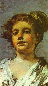 Francisco De Goya - Girl with a Jug. (Aguadora)