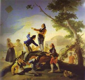 Francisco De Goya - La cometa (The Kite)