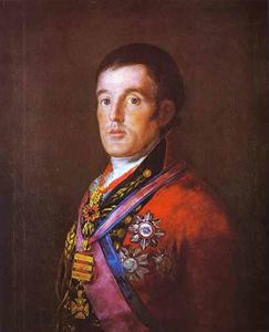 Francisco De Goya - Portrait of the Duke of Wellington