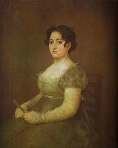 Francisco De Goya - Woman with a Fan