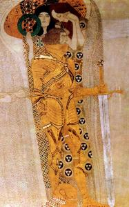 Gustav Klimt - Beethoven Frieze(detail)12