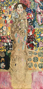 Gustav Klimt - Portrait of a Lady(unfinished)