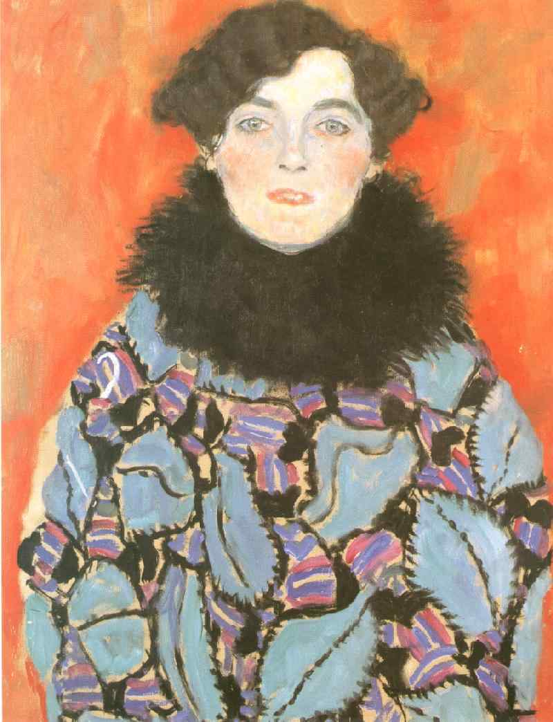 Order Reproductions | Portrait of Johanna Staude(unfinished), 1917 by Gustav Klimt (1862-1918, Austria) | WahooArt.com
