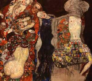 Gustav Klimt - Bride, The (unfinished), 1917-18 - Private Collection