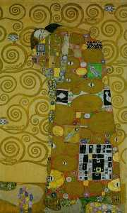 Gustav Klimt - Stoclet Frieze Fullfilment, 1905-09 - Vienna, Secession